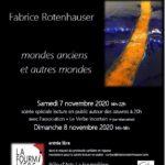 Fabrice Rotenhauser Expo Novembre 2020